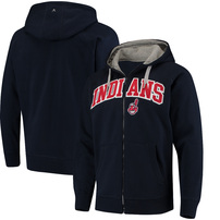 Cleveland Indians Antigua Team Victory Full-Zip Hoodie – Navy