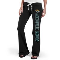 Jacksonville Jaguars '47 Brand Womens Pep Rally Pants - Black