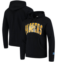 Green Bay Packers Mitchell & Ness Play Clock Pullover Hoodie – Black
