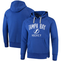 Tampa Bay Lightning Fanatics Branded Indestructible Pullover Hoodie - Blue