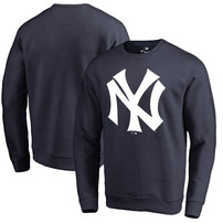 New York Yankees Fanatics Branded Cooperstown Collection Huntington Sweatshirt - Navy