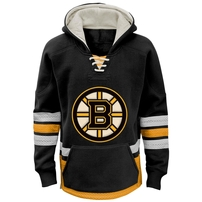 Boston Bruins Reebok Youth Retro Skate Hoodie - Black