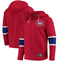 Montreal Canadiens Fanatics Branded Breakaway Full-Zip Hoodie - Red