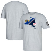 adidas Dueling Split State Of Mind T-Shirt – Heathered Gray