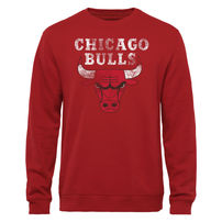 Chicago Bulls Big & Tall Pullover Sweatshirt - Red