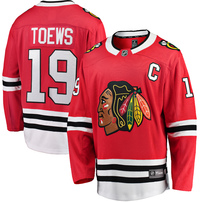Jonathan Toews Chicago Blackhawks Fanatics Branded Breakaway Player Jersey - Red