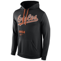 Baltimore Orioles Nike Cooperstown Performance Pullover Hoodie - Black