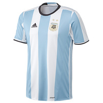 Argentina adidas 2016/17 Home Jersey - Light Blue/White