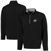Dallas Stars Antigua Leader 1/4 Zip Pullover - Black