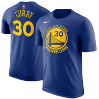 Stephen Curry Golden State Warriors Nike Name & Number Performance T-Shirt – Royal