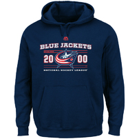 Columbus Blue Jackets Majestic Winning Boost Pullover Hoodie - Navy
