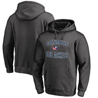 Columbus Blue Jackets Big & Tall Victory Arch Pullover Hoodie - Heather Gray
