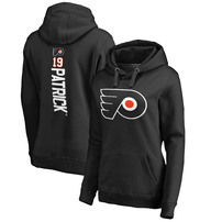 Nolan Patrick Philadelphia Flyers Fanatics Branded Women's Backer Name & Number Pullover Hoodie - Black