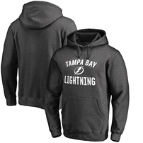 Tampa Bay Lightning Fanatics Branded Victory Arch Pullover Hoodie - Heathered Gray