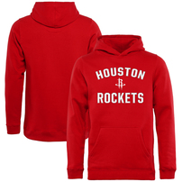 Houston Rockets Youth Victory Arch Pullover Hoodie - Red