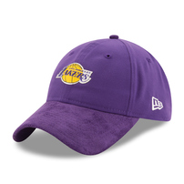 Los Angeles Lakers New Era 2017 NBA Draft Official On Court Collection 9TWENTY Adjustable Hat - Purple