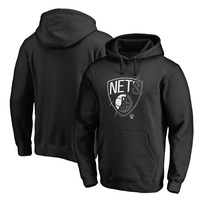 Brooklyn Nets Fanatics Branded X-Ray Pullover Hoodie - Black