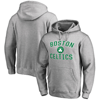Boston Celtics Big & Tall Victory Arch Pullover Hoodie - Ash