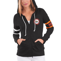 Miami Marlins Touch by Alyssa Milano Women's Postseason Hoodie – Black