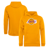 Los Angeles Lakers Youth Team Essential Pullover Hoodie - Gold