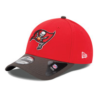 Tampa Bay Buccaneers New Era 39THIRTY Team Classic Flex Hat - Red/Pewter