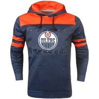 Edmonton Oilers Light Up Pullover Hoodie - Blue