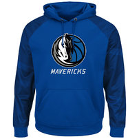 Dallas Mavericks Majestic Armor II Therma Base Pullover - Royal