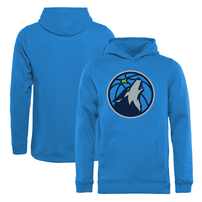 Minnesota Timberwolves Fanatics Branded Youth Primary Logo Pullover Hoodie - Blue
