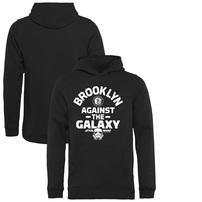 Brooklyn Nets Fanatics Branded Youth Star Wars Against the Galaxy Pullover Hoodie - Black
