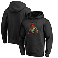 Ottawa Senators Fanatics Branded Midnight Mascot Pullover Hoodie - Black