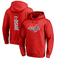 TJ Oshie Washington Capitals Fanatics Branded Backer Pullover Hoodie - Red
