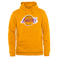 Los Angeles Lakers Primary Logo Pullover Hoodie - Gold