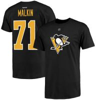 Evgeni Malkin Pittsburgh Penguins Reebok Alternate Name and Number Player T-Shirt - Black