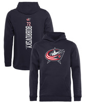 Sergei Bobrovsky Columbus Blue Jackets Fanatics Branded Youth Backer Pullover Hoodie - Navy