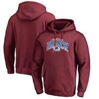 Colorado Avalanche Fanatics Branded Hometown Collection Pullover Hoodie – Burgundy