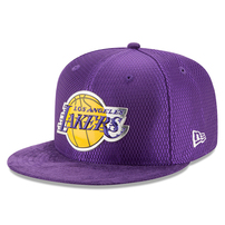 Los Angeles Lakers New Era 2017 NBA Draft Official On Court Collection 59FIFTY Fitted Hat - Purple