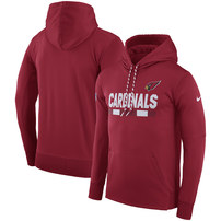 Arizona Cardinals Nike Men's Sideline ThermaFit Performance PO Hoodie – Cardinal