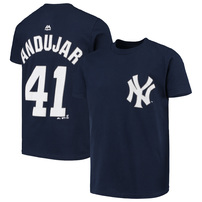 Miguel Andujar New York Yankees Majestic Youth Player Name & Number T-Shirt – Navy