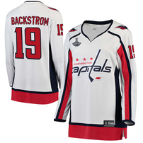 Nicklas Backstrom Washington Capitals Women's 2018 Stanley Cup Champions Away Breakaway Player Jersey – White