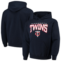 Minnesota Twins Stitches Team Pullover Hoodie – Navy