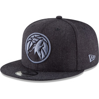 Minnesota Timberwolves New Era Twisted Frame 9FIFTY Adjustable Hat – Blue