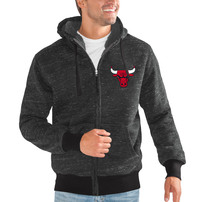 Chicago Bulls G-III Sports by Carl Banks Discovery Transitional Full-Zip Jacket – Black