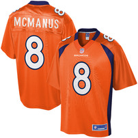 NFL Pro Line Mens Denver Broncos Brandon McManus Team Color Jersey