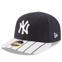 New York Yankees New Era Diamond Era 59FIFTY Low Profile Fitted Hat - Navy/White