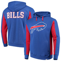 Buffalo Bills NFL Pro Line by Fanatics Branded Team Iconic Pullover Hoodie – Royal