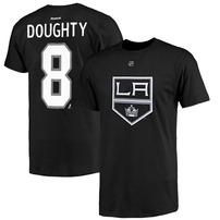 Drew Doughty Los Angeles Kings Reebok Name and Number Player T-Shirt - Black