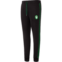 Boston Celtics Mitchell & Ness Taped Fleece Jogger - Black