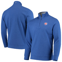 Chicago Cubs Vineyard Vines Saltwater Quarter-Zip Pullover Jacket - Royal