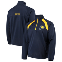 Indiana Pacers G-III Sports by Carl Banks High Impact Quarter-Zip Pullover Jacket – Navy
