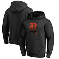 Detroit Tigers Fanatics Branded Big & Tall Midnight Mascot Pullover Hoodie – Black